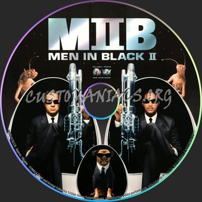 Men In Black 2 dvd label