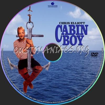 Cabin Boy dvd label