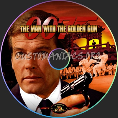 The Man With The Golden Gun Dvd The Man With The Golden Gun