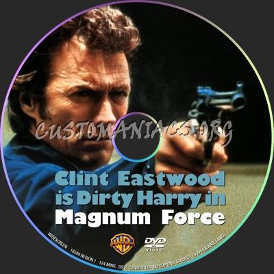 Magnum Force dvd label