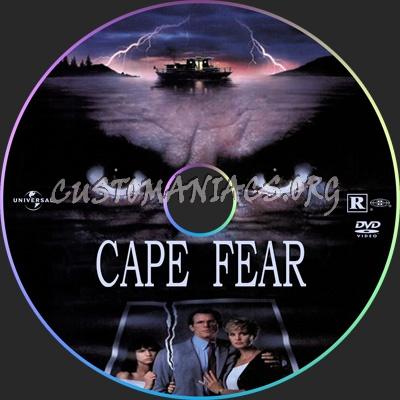 Cape Fear (1991) dvd label