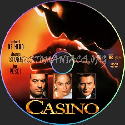 Casino dvd label