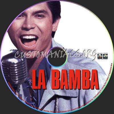 La Bamba dvd label
