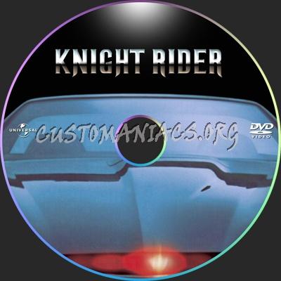 Knight Rider Dvd Cover Knight Rider Dvd Label