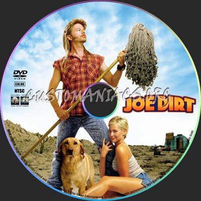 Joe Dirt dvd label
