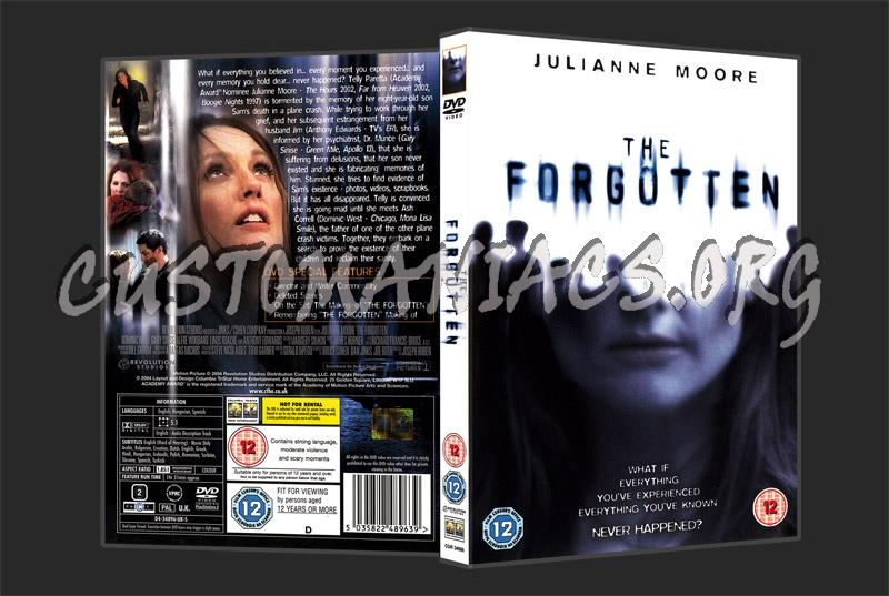 The Forgotten dvd cover