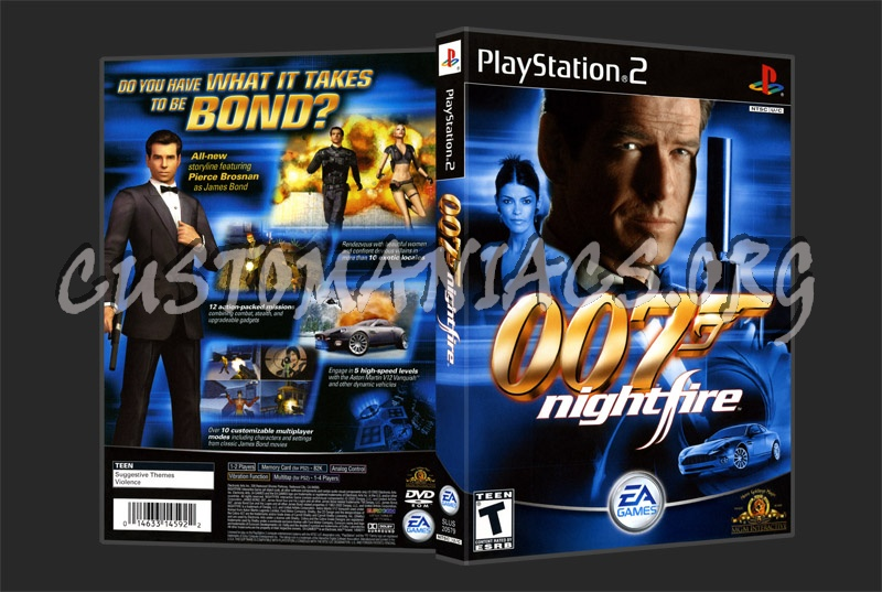 007 Nightfire dvd cover
