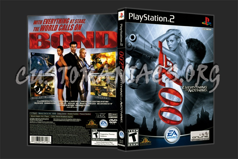 007 Everything Or Nothing dvd cover