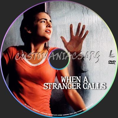 When a Stranger Calls dvd label