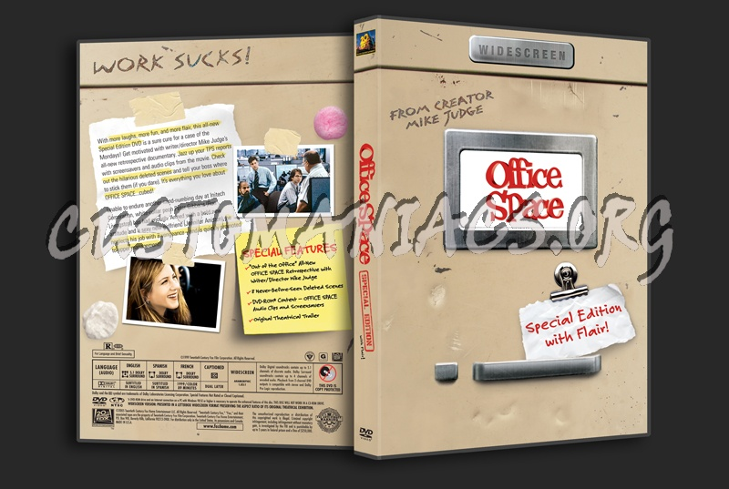 Office space dvd cover dvd covers labels by for Office space cover