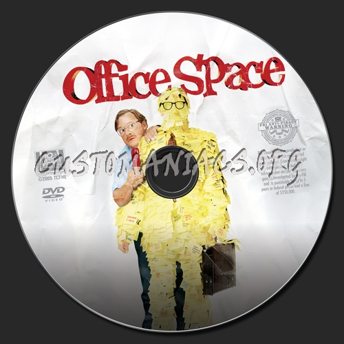 Office space dvd label dvd covers labels by for Office space cover