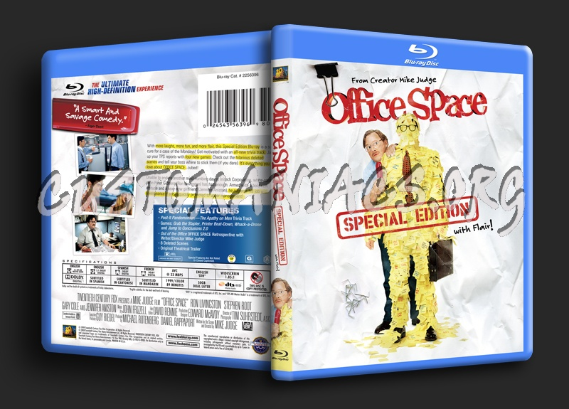 Office space blu ray cover dvd covers labels by for Office space cover