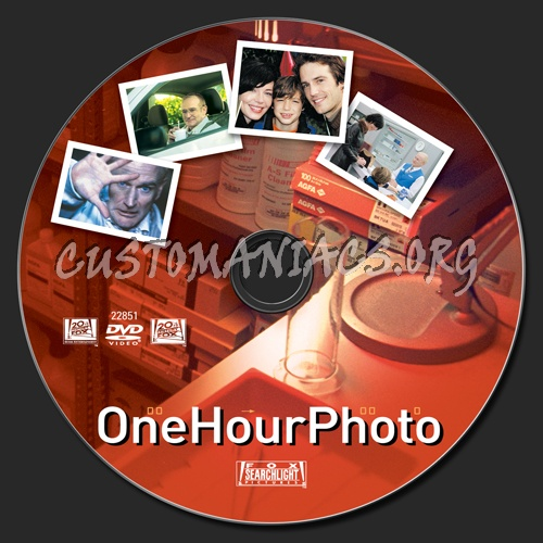 One Hour Photo dvd label