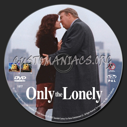 Only the Lonely dvd label
