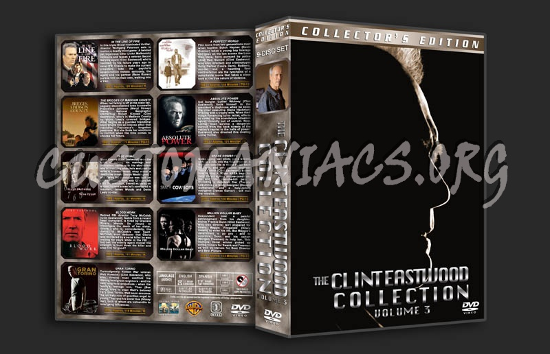 Clint Eastwood Collection Vol.3 dvd cover