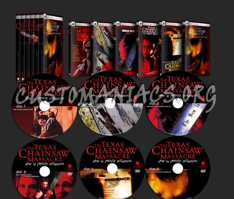 Texas Chainsaw Massacre Collection dvd cover