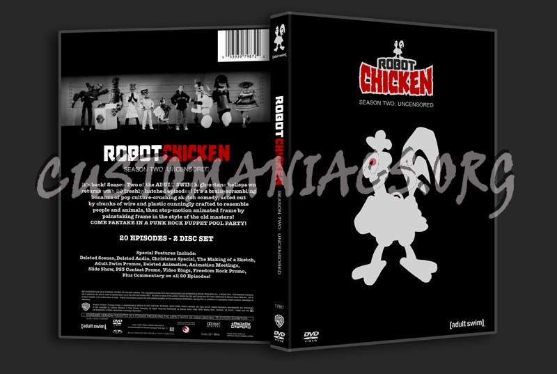 Robot Chicken Season 2 dvd cover