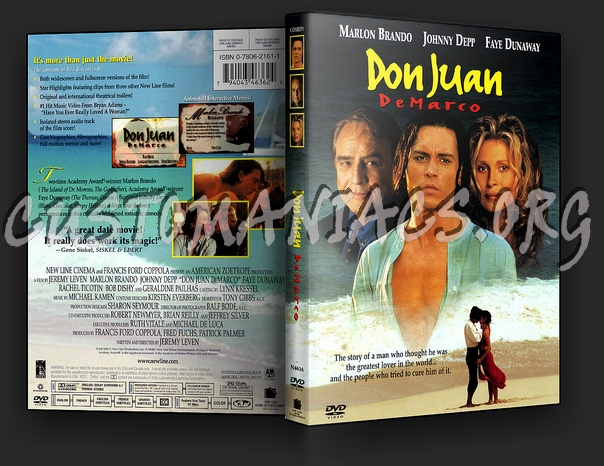 Don Juan DeMarco dvd cover - DVD Covers & Labels by