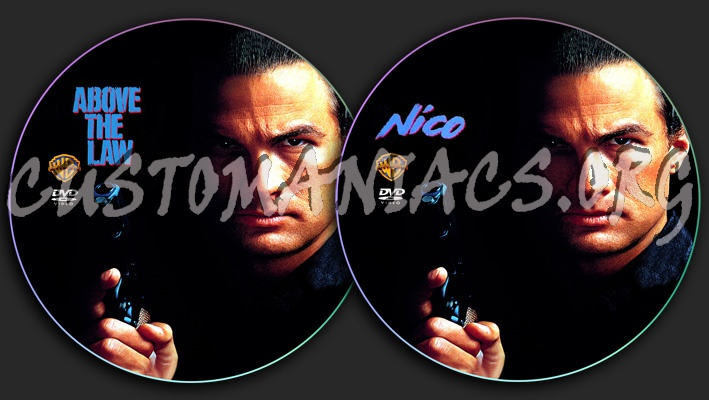 Nico / Above the Law dvd label