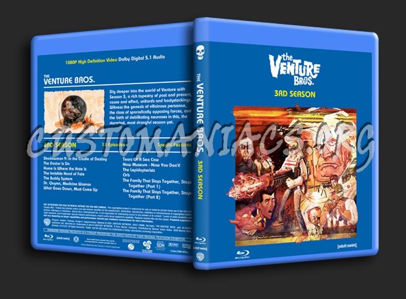 Venture Bros. Season 3 blu-ray cover