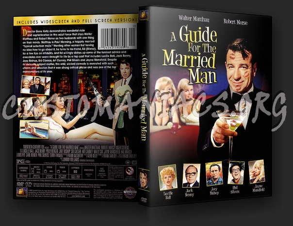 A Guide for the Married Man dvd cover