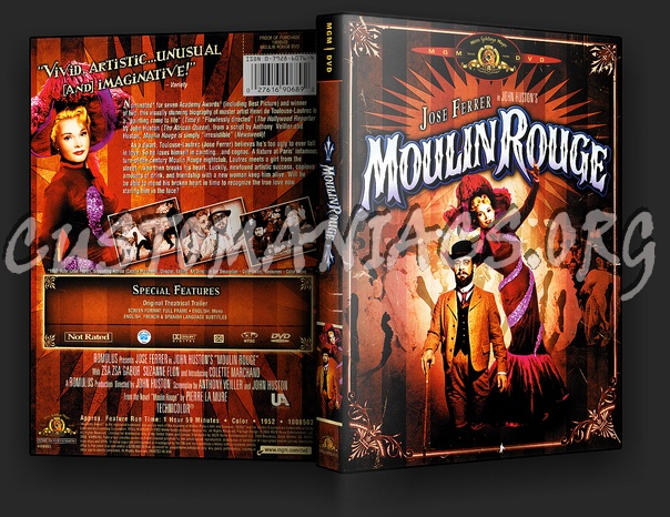 Moulin Rouge dvd cover