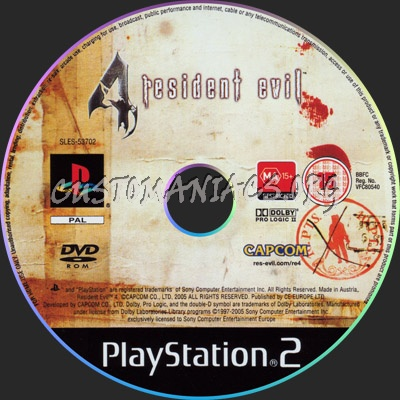 Resident Evil 4 Dvd Label Dvd Covers Labels By Customaniacs