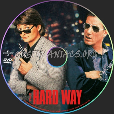 The Hard Way dvd label