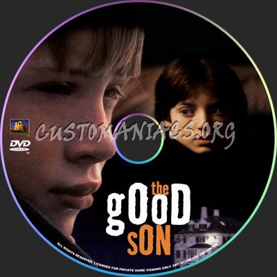 The Good Son dvd label