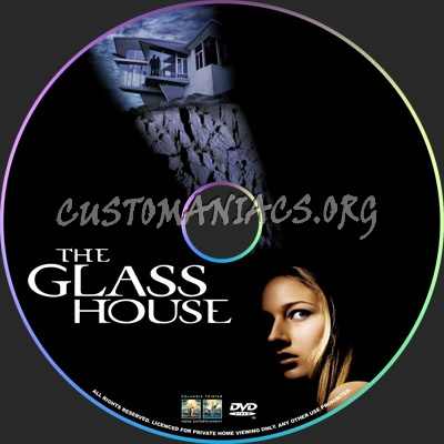 The Glass House dvd label