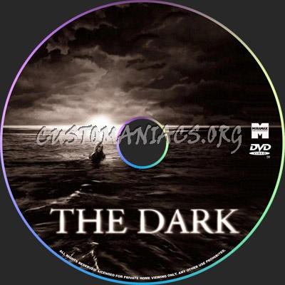 The Dark dvd label