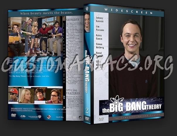 The Big Bang Theory dvd cover