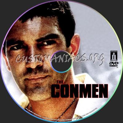 The Conmen dvd label