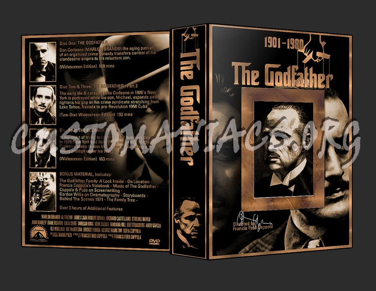 The godfather trilogy dvd cover dvd covers labels by the godfather trilogy dvd cover altavistaventures Gallery
