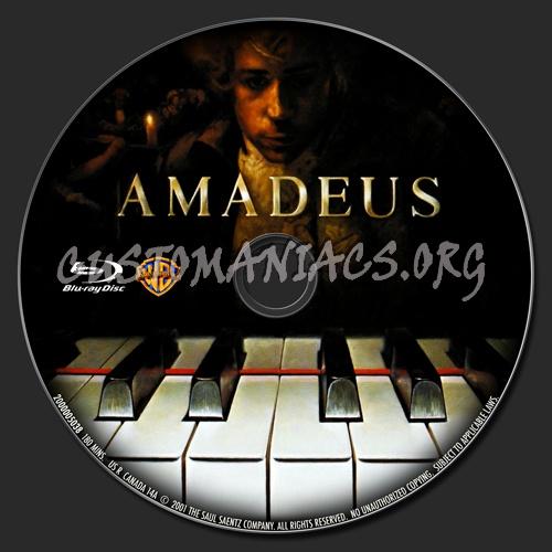 Amadeus blu-ray label