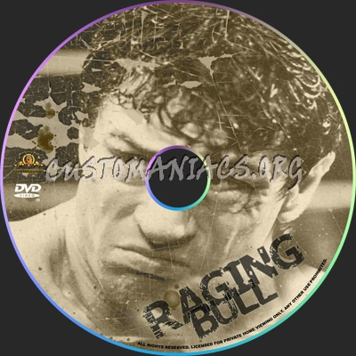 Raging Bull dvd label