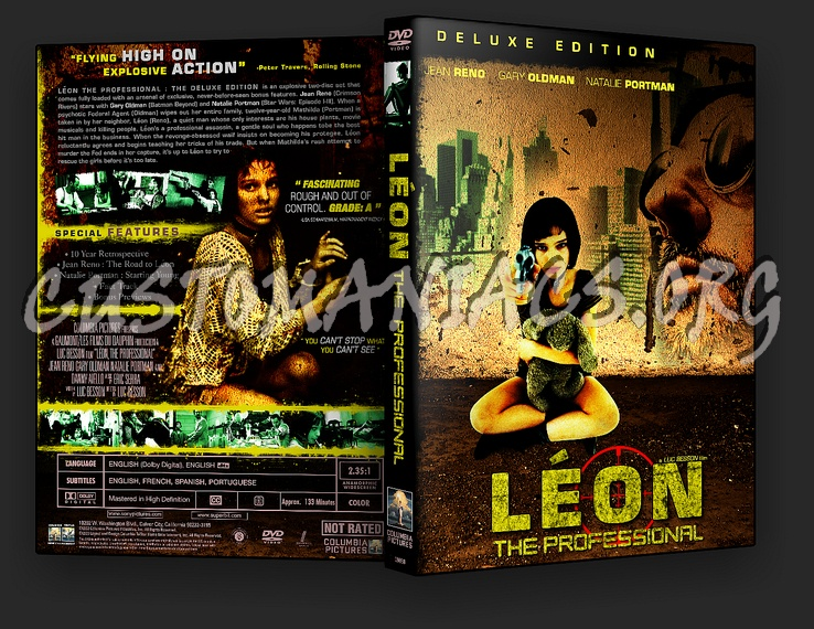 Leon the Professional dvd cover