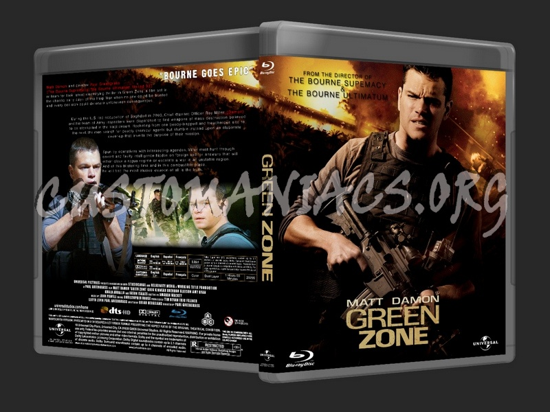 Green Zone blu-ray cover