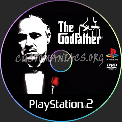 The Godfather dvd label