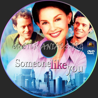 Someone Like You dvd label