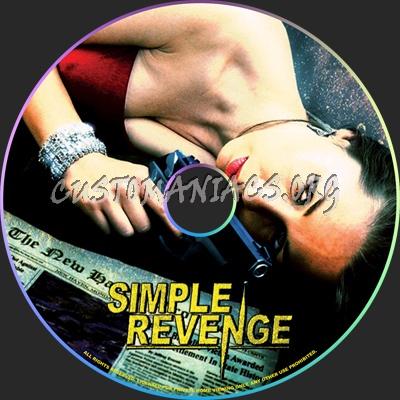Simple Revenge dvd label