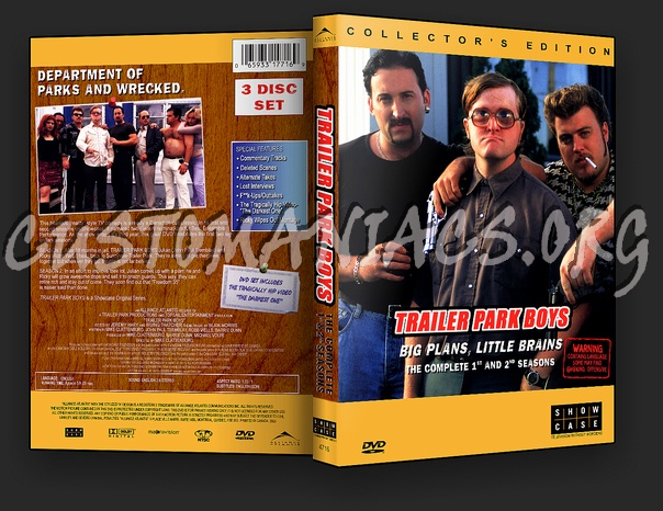 Trailer Park Boys - Seasons 1, 2 and 3 dvd cover