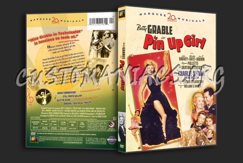 Pin Up Girl dvd cover