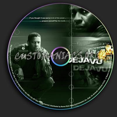 Deja-Vu dvd label
