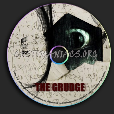 The Grudge dvd label