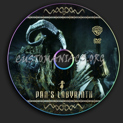 Pan's Labyrinth dvd label