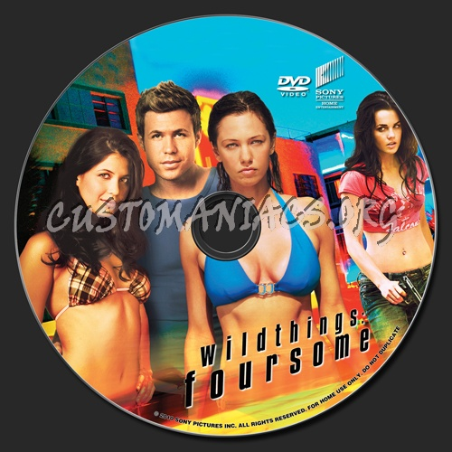 Wild Things: Foursome dvd label