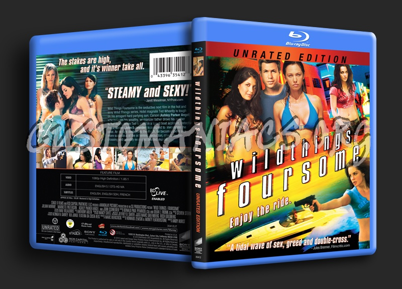Wild Things: Foursome blu-ray cover