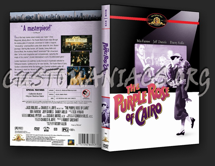 The Purple Rose of Cairo dvd cover