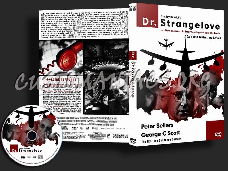 Dr Strangelove dvd cover